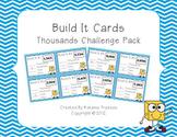 Place Value Building Cards Thousands Challenge Pack