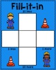 Place Value - Building Numbers - Construction Theme- Scoot!