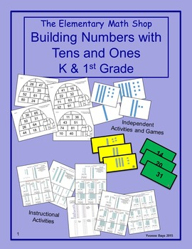 Place Value Building Numbers with Tens and Ones