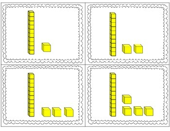 Place Value - Building Teen Numbers Math Tub