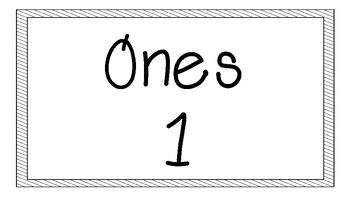 Place Value Bulletin Board {Blank-No Theme}