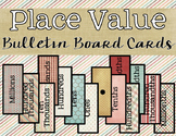 Place Value Bulletin Board Cards {Hundred Millions~Millionths}