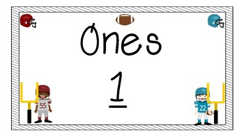 Place Value Bulletin Board {Football Theme}