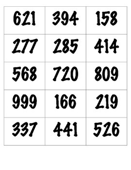 Place Value Bulletin Board or Activity