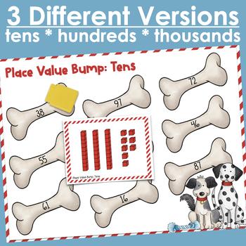 Place Value Bump- 3 Levels
