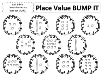 Place Value Bump It