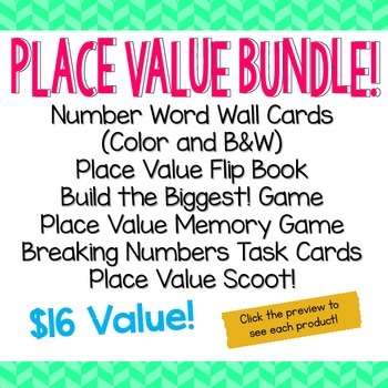 Place Value Bundle!