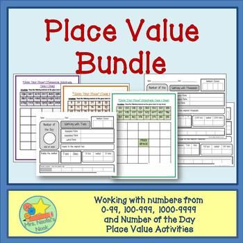 Place Value Bundle - Thousands, Hundreds, Tens