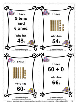 Place Value Bundle: 2 Digit Numbers: Place Value Activities and Games