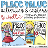 Place Value Activities and Centers Bundle