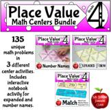 Place Value Bundle  Math Center Activities