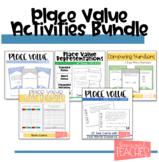 Place Value Task Cards and Games Bundle