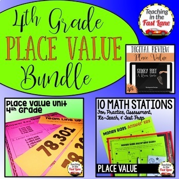 Place Value Bundle 4th Grade