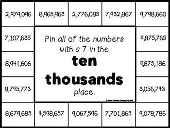 Place Value Bundle - Self-Checking Math Centers