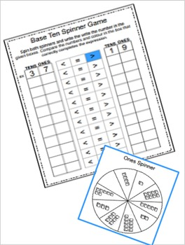 Place Value Bundle {Base Ten Block Activities}