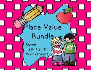 Place Value Bundle- CCSS 2.NBT.1