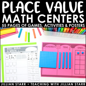 Place Value Math Centers