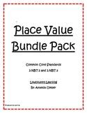 Place Value Bundle Pack - 2.NBT.1 and 2.NBT.3