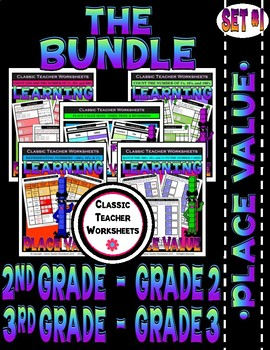 Place Value Bundle - Set 1 - 2nd Grade (Grade 2) - 3rd Grade (Grade 3)