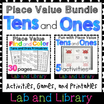 A Place Value Bundle: Tens and Ones