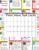 Place Value Bundle - Worksheets, Task Cards - 3rd grade TEKS, 4th grade CCSS