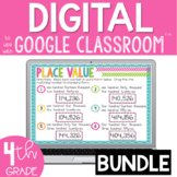 Place Value Bundle for Google Classroom