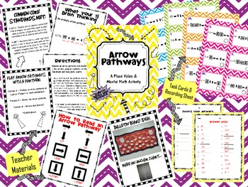 Place Value Bundled {Three Games to Help Teach Place Value}