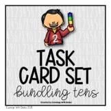 Place Value (Bundling Tens) Task Cards Set 2