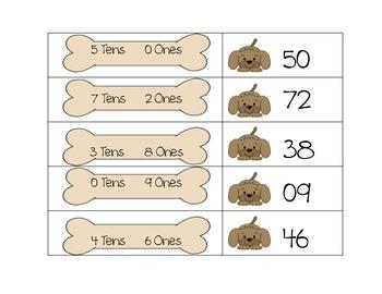 Place Value- CCSS K.NBT.1, 1.NBT.2, and 2.NBT.1