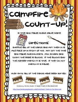 Place Value - Campfire Count-Up!