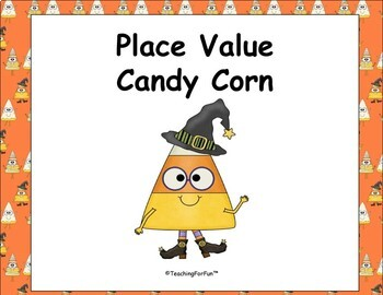 Place Value Candy Corn Number Words to 100