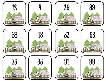 Place Value Card Activity