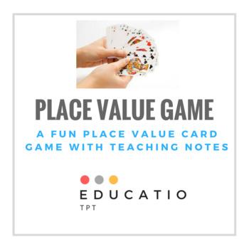 Freebie Place Value Game (No Prep)