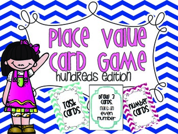Place Value {Card Game} Hundreds edition