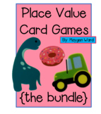Place Value Card Games {THE BUNDLE}