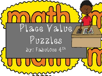 Place Value Card Sets