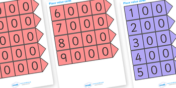 Place Value Cards