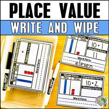 Place Value Cards - Expanded Form, Standard Form, Word Form