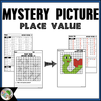 Back to School Place Value Mystery Picture