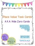 Place Value Cards/Hide Zero Cards