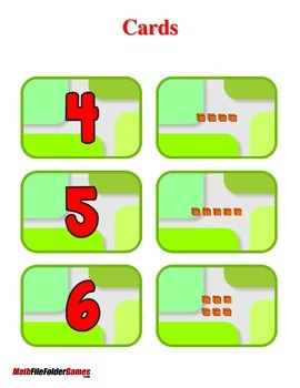 Place Value Cards - Ones, Tens, Hundreds  Cards {Place Value Game}