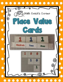 Place Value Cards--Ones, Tens, and Hundreds