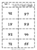 Place Value Cards- Ordering Card Sort Game- Tens