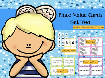 Place Value Cards - Set Two