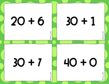 Place Value Cards - Values 0-120