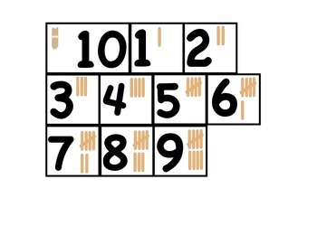 Place Value Cards for Numbers and Operations in Base Ten
