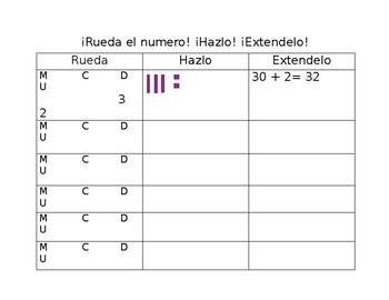 Place Value Center SPANISH