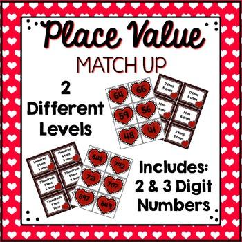 Place Value Center {Valentine's Edition}