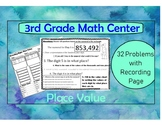 Place Value Word Problems: Place Value Worksheets 3rd grade