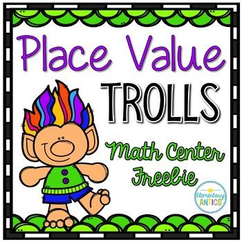 Place Value Center Freebie